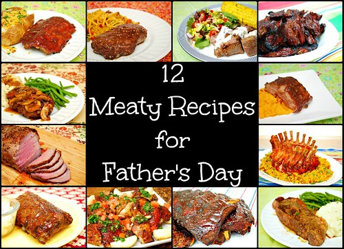12 Meaty Recipes for Father's Day