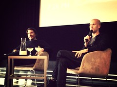 @JasonBall, Qualcom Ventures, & Tyler Crowley (@SteepDecline) at Sthlm Tech Meet #SthlmTech