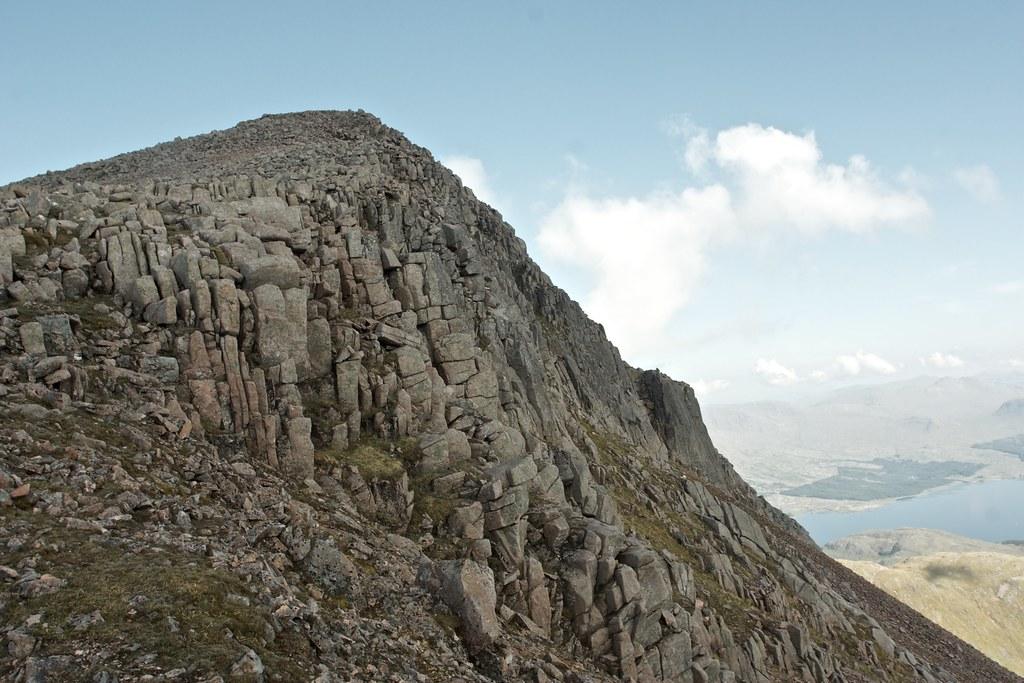 Crags on Taynuilt Peak