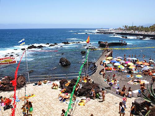 July in Puerto de la Cruz, Tenerife