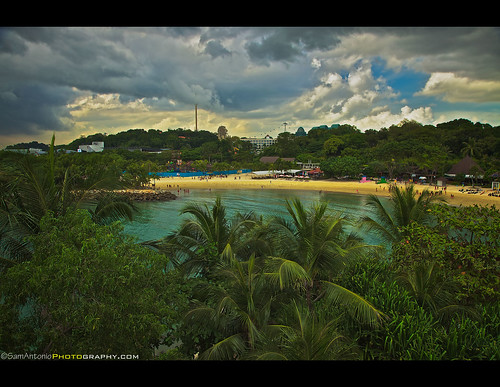 Looking for Sunshine at Sentosa Island - Singapore by Sam Antonio Photography
