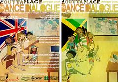Dance dialogue posters - England & Jamaica
