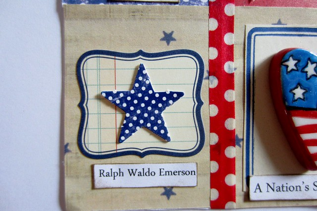 Red, White, & Blue Tiny Book 8
