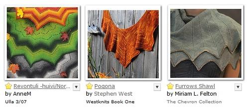 gradient shawls 1