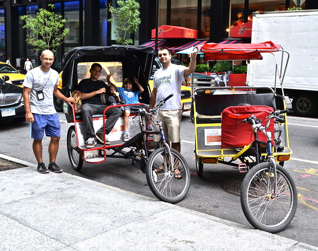 Pedicab tour - tour of central park nyc