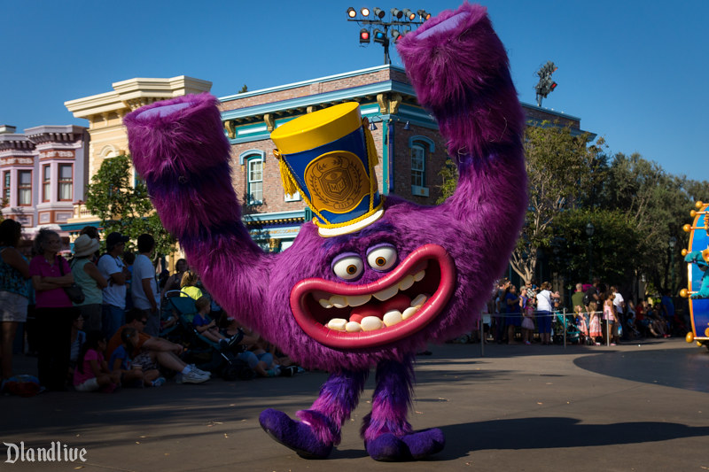 Monsters U - Pixar Play Parade