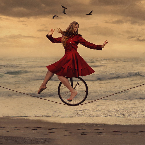 the almost circus and invisible audience by brookeshaden