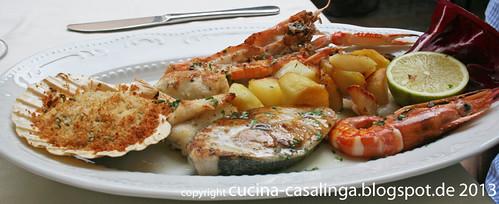 La Piazzetta Fischplatte