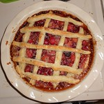 Sour Cherry Pie with Leaf Lard Crust