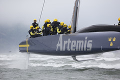Artemis Blue - Second day of sailing