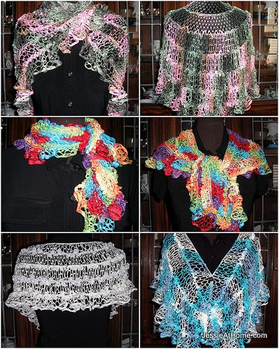 Natalie Net Shaw And Wrap Crochet Pattern Jessie At Home