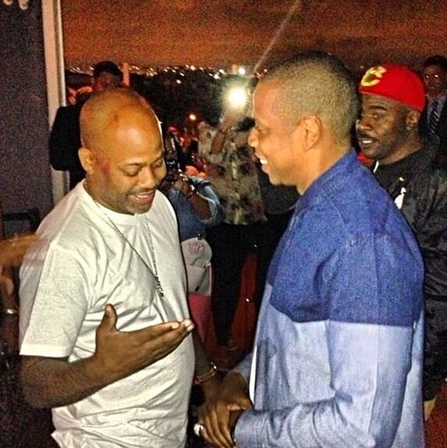 Pictures Jay-z and Dame Dash meet for the first time in years