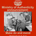 MOA poster: Make do and mend by Ministry of Authenticity