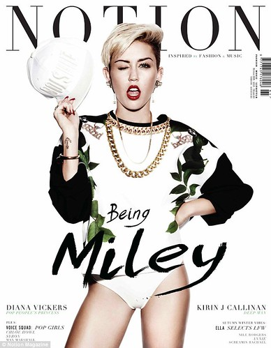 Miley Cyrus Notion magazine Photo spread