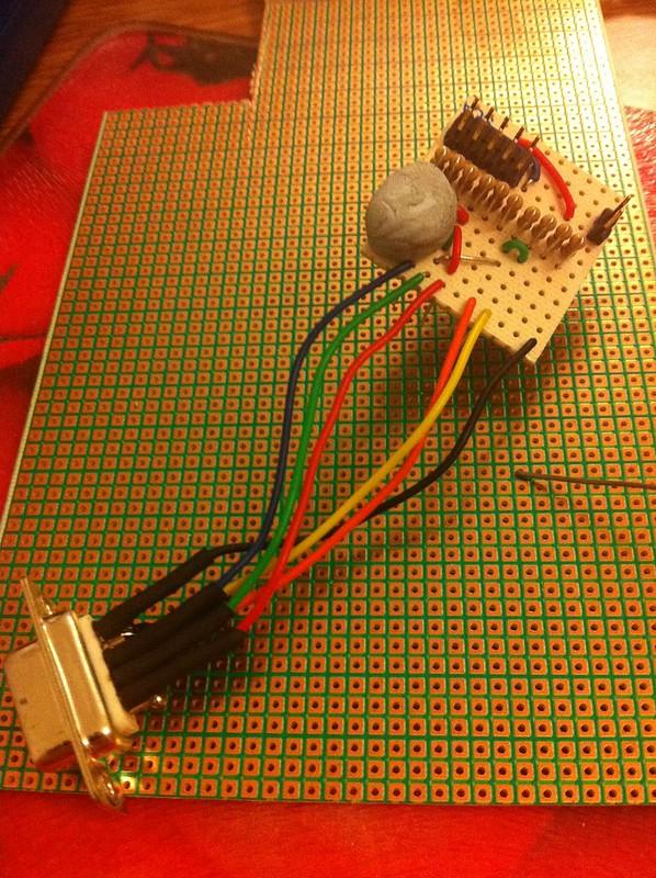 Arduino Due VGA Perfboard