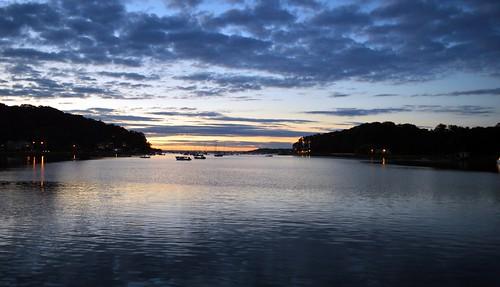sunset sky longisland centerport