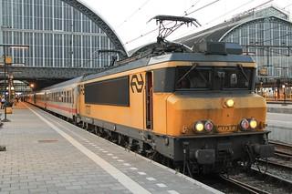 1737 DB Schenker, 2038  overnight sleeper from Amsterdam to Munich