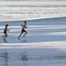 Running bathers by Jawad Q