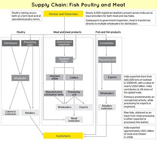 Poultry Meat & Fish Supply Chain
