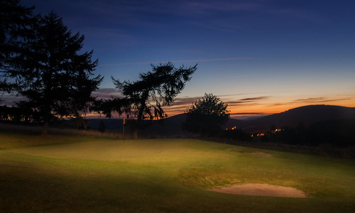 green club sunrise golf scotland 15th moray dufftown