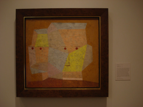 DSCN8779 _ Two Heads, 1932, Paul Klee (1879-1940), Norton Simon Museum, July 2013
