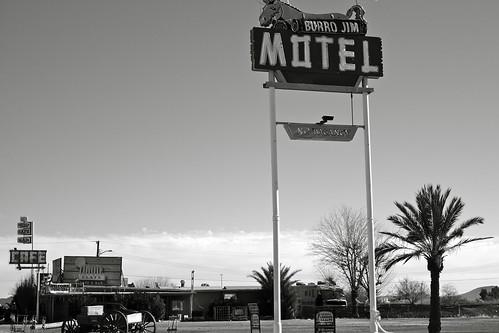 Burro Jim Motel, Aguila, Arizona