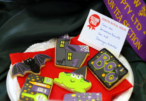 Perth Royal Show 2013 - Decorated Biscuits (Second Place)