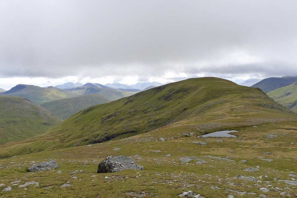 The Beinn Achaladair ridge