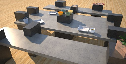 Modern concrete garden furniture, concept design and production by 108.167.189.34