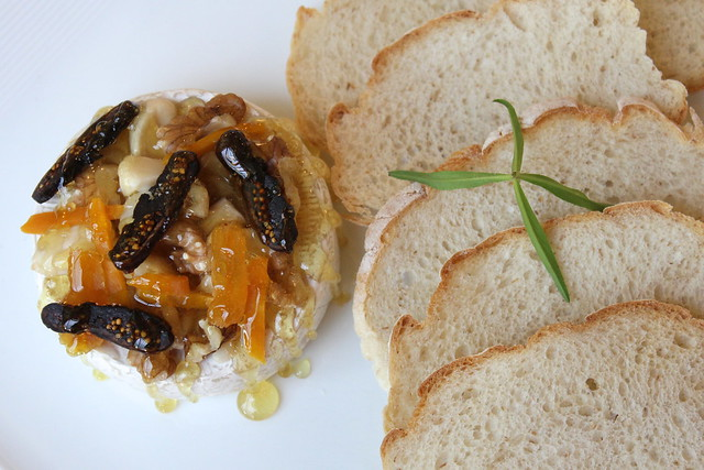 Caramelized Camembert