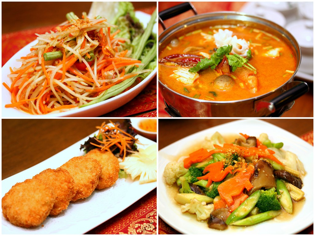 Royal thai enjoy authentic thai food with perfect greenery for Authentic cuisine