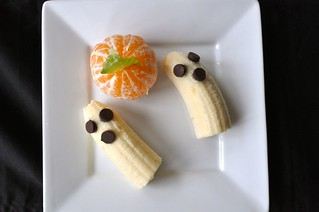 Halloween snack toddler prepared