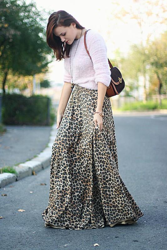 leopard print skirt 1