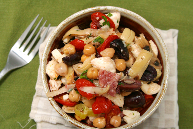 antipasto salad 5