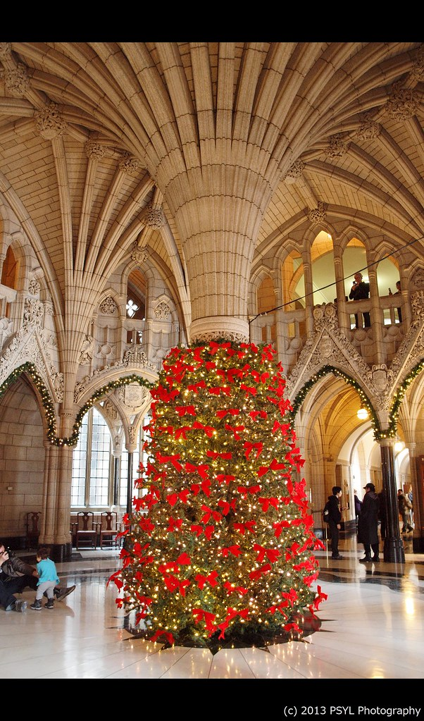 Christmas in Parliament Building