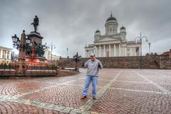 Matt in Helsinki Capitol