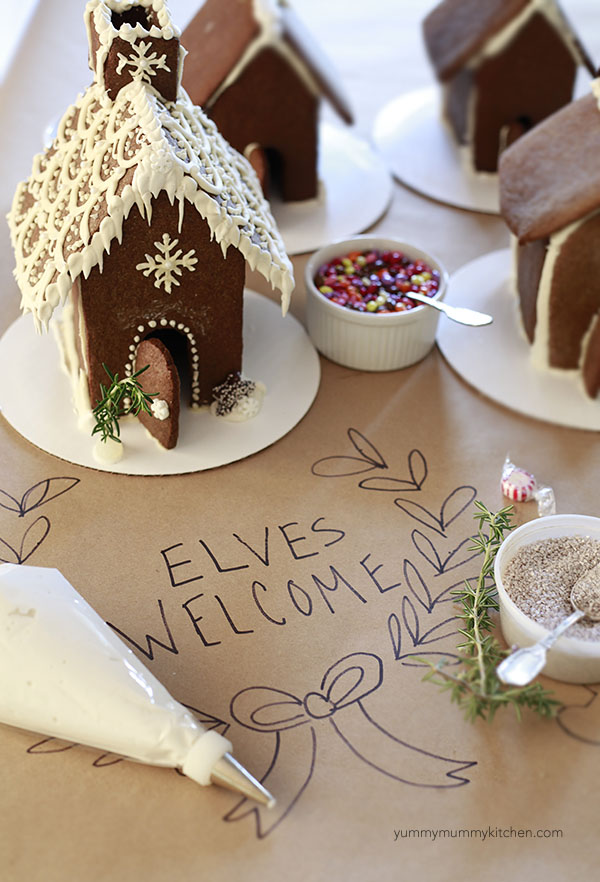 How To Make A Gingerbread House Throw A Decorating Party