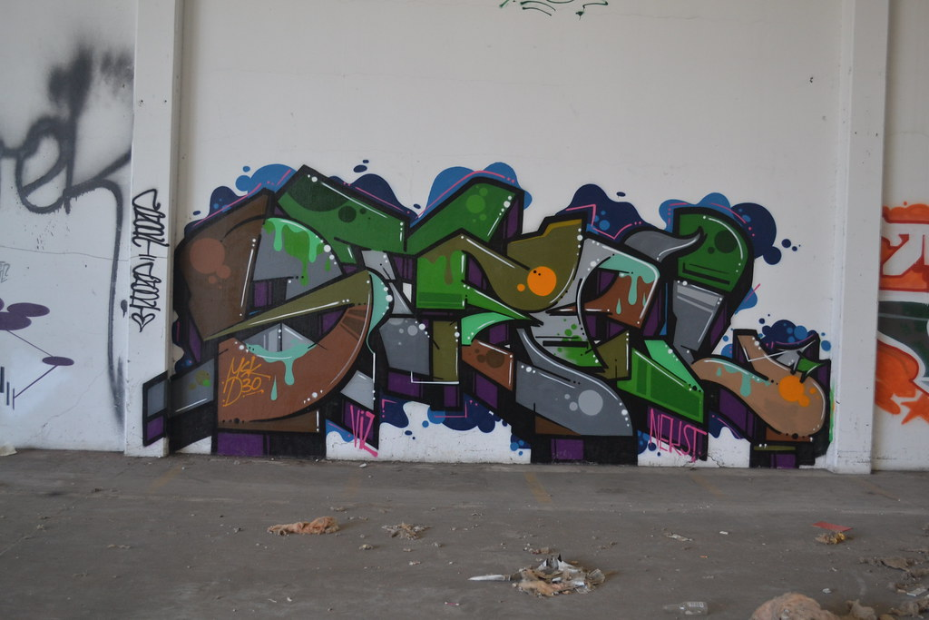 STEEL, MSK, D30, Graffiti, Oakland, Chill Spot
