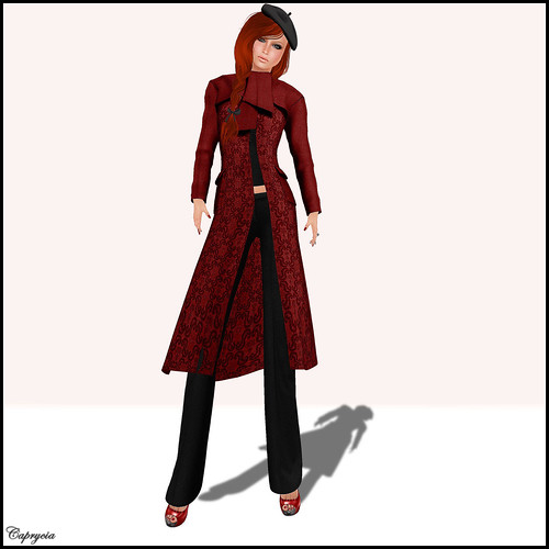 Chic trench coat For Avagirl by ♥Caprycia♥