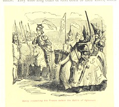 """British Library digitised image from page 353 of """"The Comic history of England"""""""