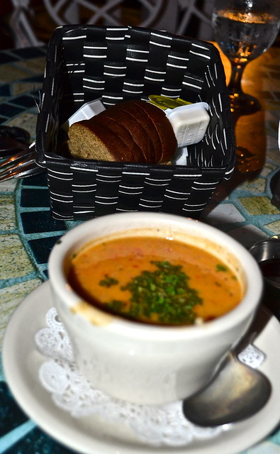 lobster bisque - raintree restaurant