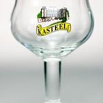 ベルギービール大好き!!【キャスティールの専用グラス(mini)】(管理人所有 )