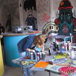 Street Art Workshop, Stencil Art and Colors - Berlin