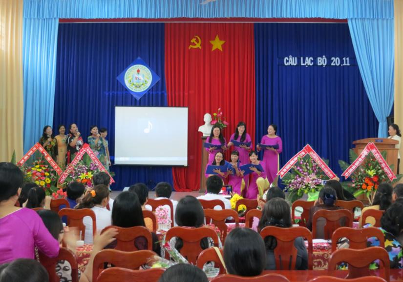 Câu lạc bộ 20 tháng 11 năm 2013 - Trường THCS Võ Thị Sáu