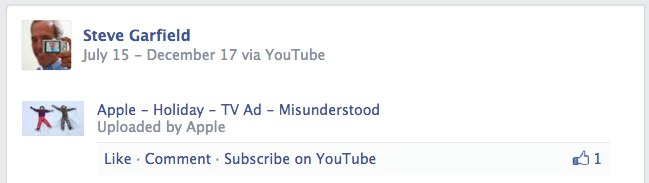 YouTube Share on Facebook #FAIL
