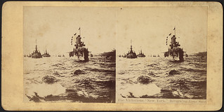 The victorious 'New York,' returning from Sant[iago]