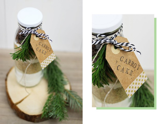 Diy kuchen 39 in a bottle 39 ein last minute for Weihnachtsgeschenk fa r freund selbstgemacht