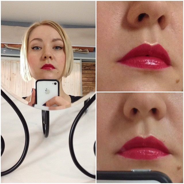 05 Makeup Lessons Evgeniya Yanysheva liners and red lips