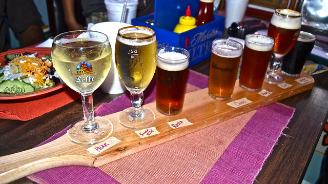 beer sampler taste test