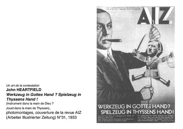HEARTFIELD John, Wergzeug in Gottes Hand, 1933
